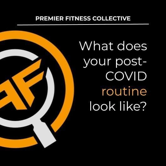 What does your COVID routine look like?