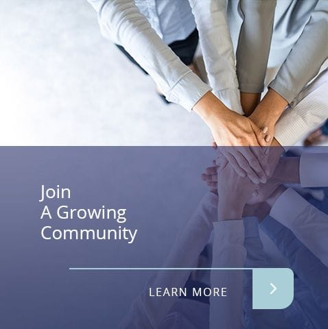Join a growing community