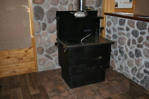 The Baker's Choice Wood Cook Stove