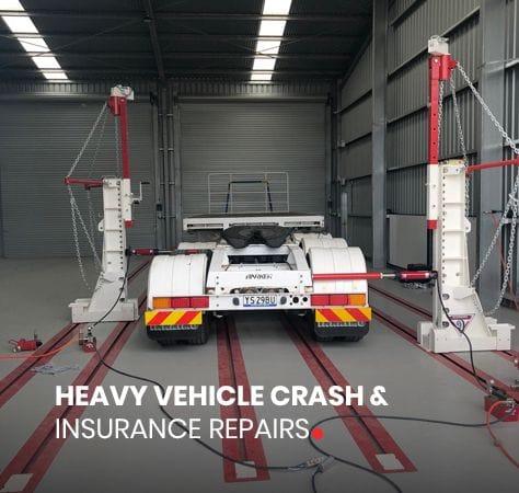 HEAVY VEHICLE CRASH &  INSURANCE REPAIRS