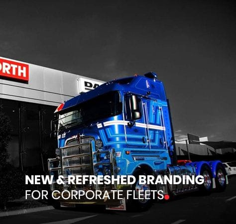 NEW & REFRESHED BRANDING  FOR CORPORATE FLEETS