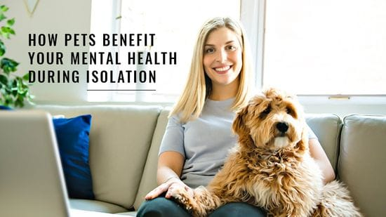 How Pets Benefit Your Mental Health During Isolation