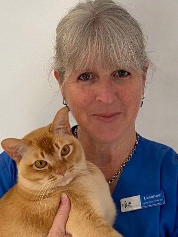 Leanne, vet nurse at North Road Veterinary Centre