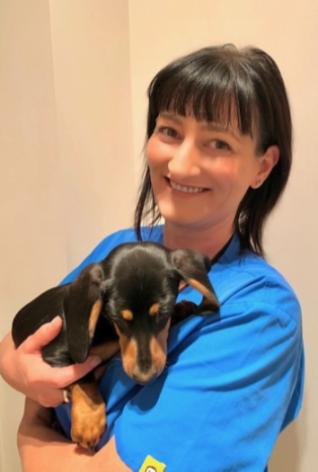 Sarah, vet nurse at North Road Veterinary Centre
