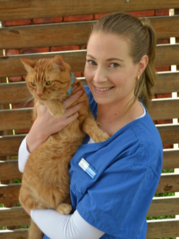 Tennille, vet nurse at North Road Veterinary Centre