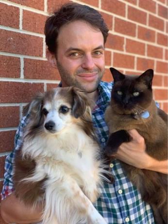 Dr Byron von Hoff, veterinarian at North Road Veterinary Centre
