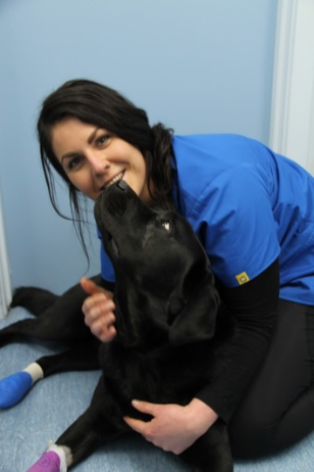Chloe, vet nurse at North Road Veterinary Centre