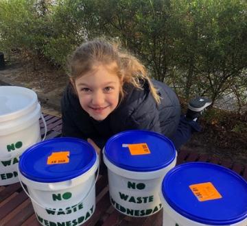 No Waste Wednesday Composting Warriors