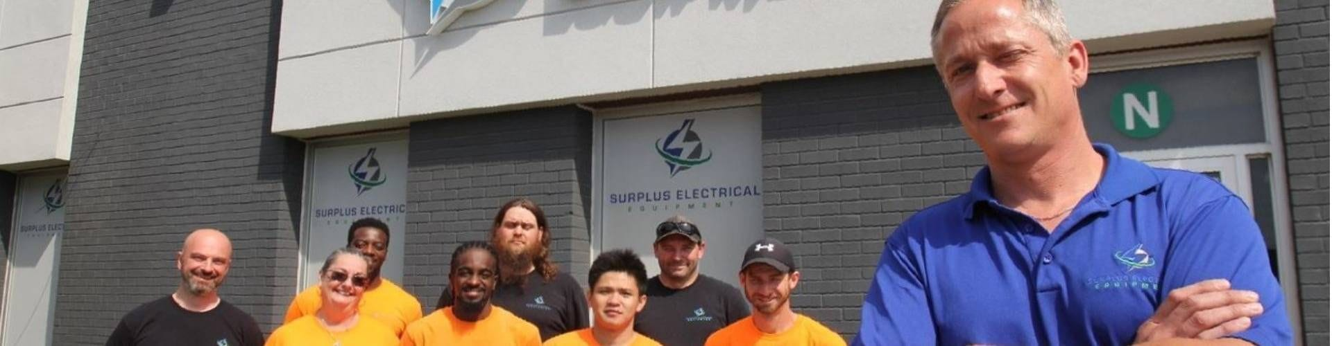 About Surplus Electrical Equipment