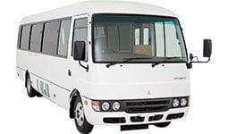 FUSO Rosa Bus SWB 22 Seats or LWB 25 Seats | Daimler Trucks Wagga & Albury