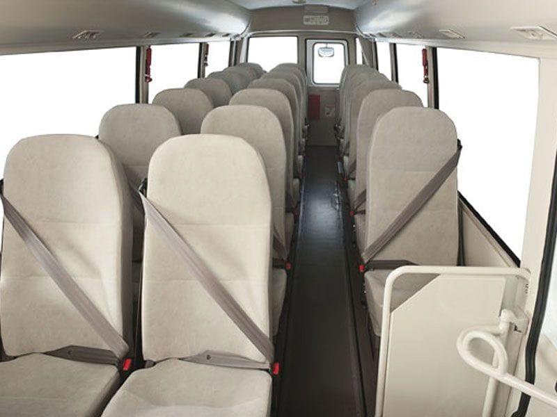FUSO Rosa Bus Interior | Daimler Trucks Wagga & Albury