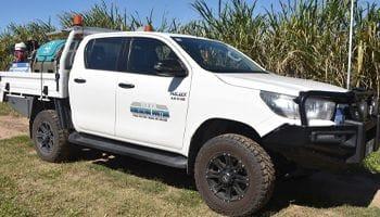Maintenance Vehicle | Tropical Aqua Blast | Environmentally Friendly Property Maintenance | Vegetation Management & Control