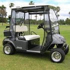 All Weather enclosures to suit 2 and 4 seater E-Z-GO TXT Golf Cars.  Available in 'Clear' and 'Tinted'.