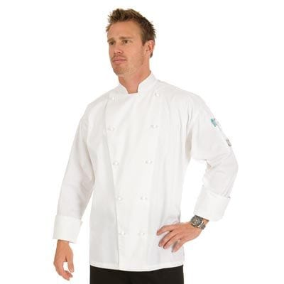 3 Way Air Flow Lightweight Chef Jacket Long Sleeve