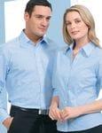Mens Long Sleeve Shadow Stripe Shirt