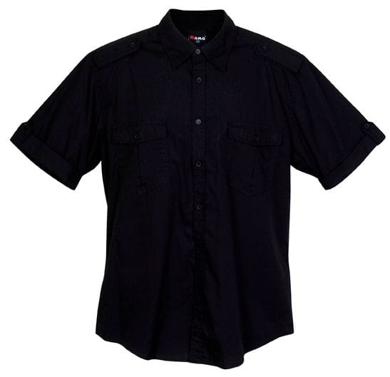 Mens S/Sleeve Military Shirts