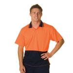 HiVis Food Industry S/Sleeve Polo
