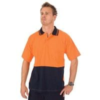 HiVis Cool Breeze Cotton Jersey Food Industry Polo - S/S
