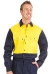 Patron Saint Flame Retardant Two Tone DrillShirt, Long Sleeve