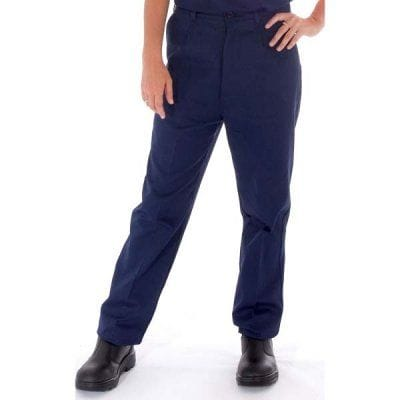 Ladies Cotton Drill Pants > 311 gsm Heavyweight