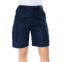 Ladies Cotton Drill Cargo Shorts