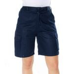 Ladies Cotton Drill Cargo Shorts