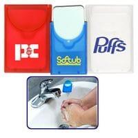Square Shape Paper Soap