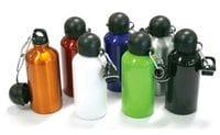 Alumimium Sports Flask w/Carabiner