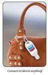 Hand Sanitiser gel w Carabiner
