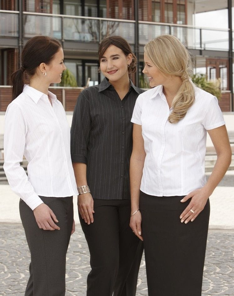 Ladies Short Sleeve New Yorker Shirt