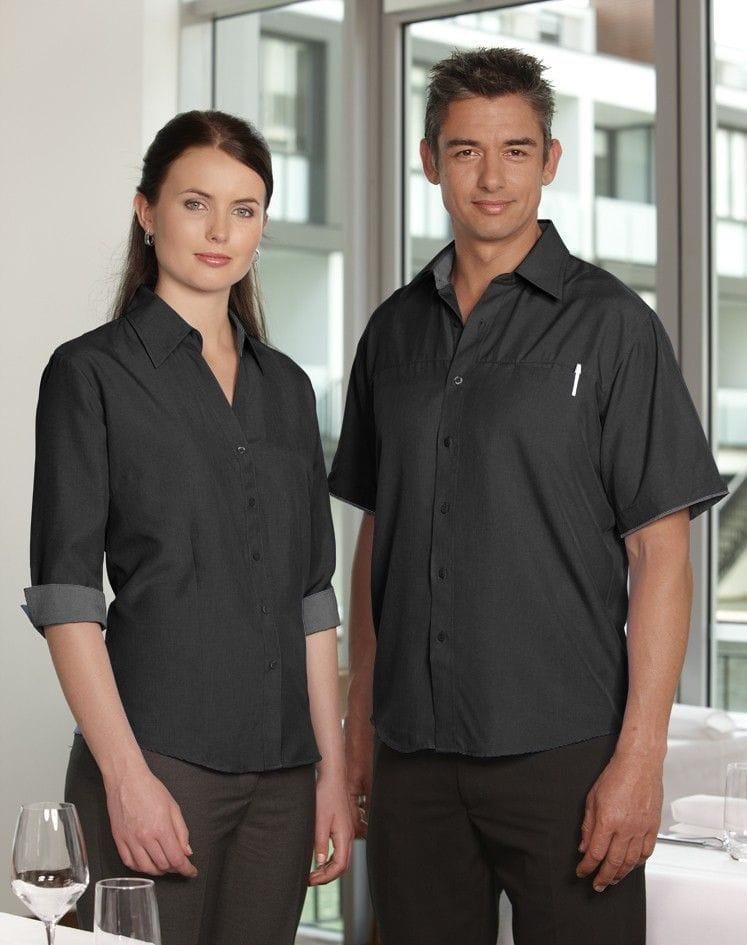 Ladies 3/4 Sleeve Contrast Oasis Shirt