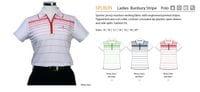 Ladies Bunbury Stripe Polo