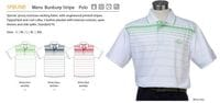 Mens Bunbury Stripe Polo