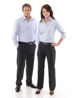 Mens Mechanical Stretch Flat Front Pant