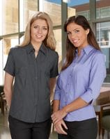 Ladies Plain 3/4 Sleeve Oasis Shirt