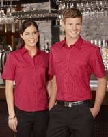 Ladies Cuban S/Sleeve Shirt