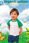 Organic Cotton - Kids Raglan T