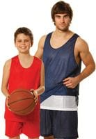 Kids Reversable Basketball Singlet