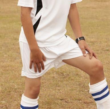 Kids Plain Soccer Shorts