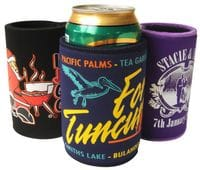 Screenprinted Stubby Coolers