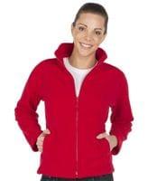 Ladies Full Zip Polar Fleece
