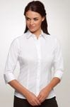 Ladies 3/4 Sleeve Stretch Shirt