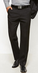 Mens Flat Front Cool Stretch Trouser