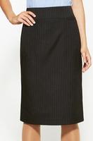 Ladies Relaxed Pinstripe Skirt