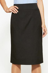 Ladies Relaxed Pinstripe Skirt