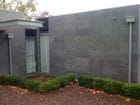 Honed Bluestone on Wall