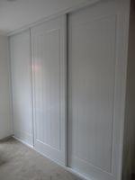 framed colonial doors