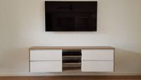 Wall mounted TV unit