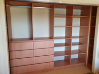 DR Henderson Sonova Beech. lots of drawers and shelving for this teenage boys wardrobe