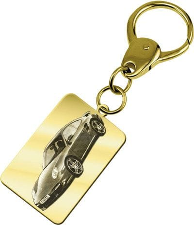 Keyring Rectangle